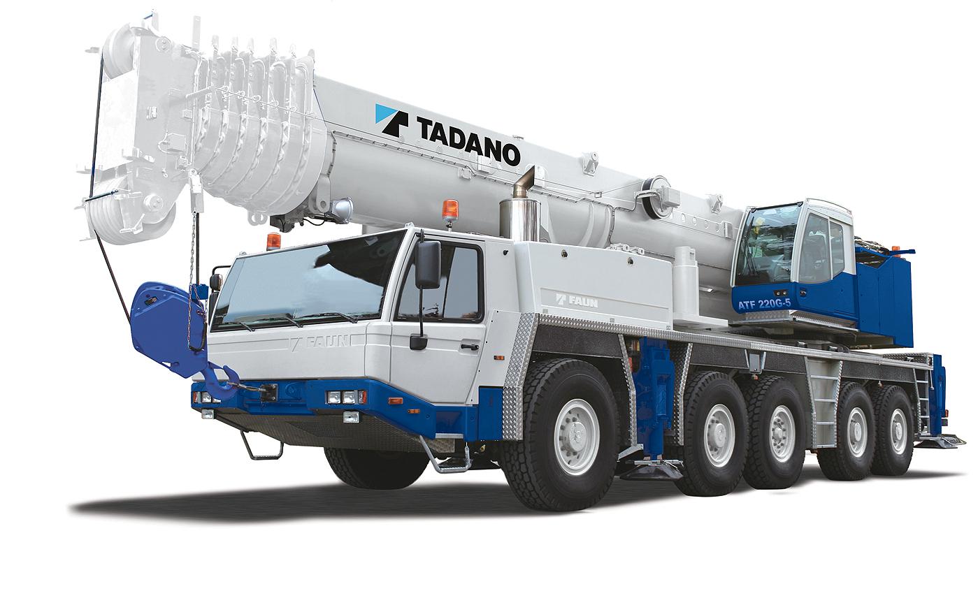 Tadano All Terrain Crane