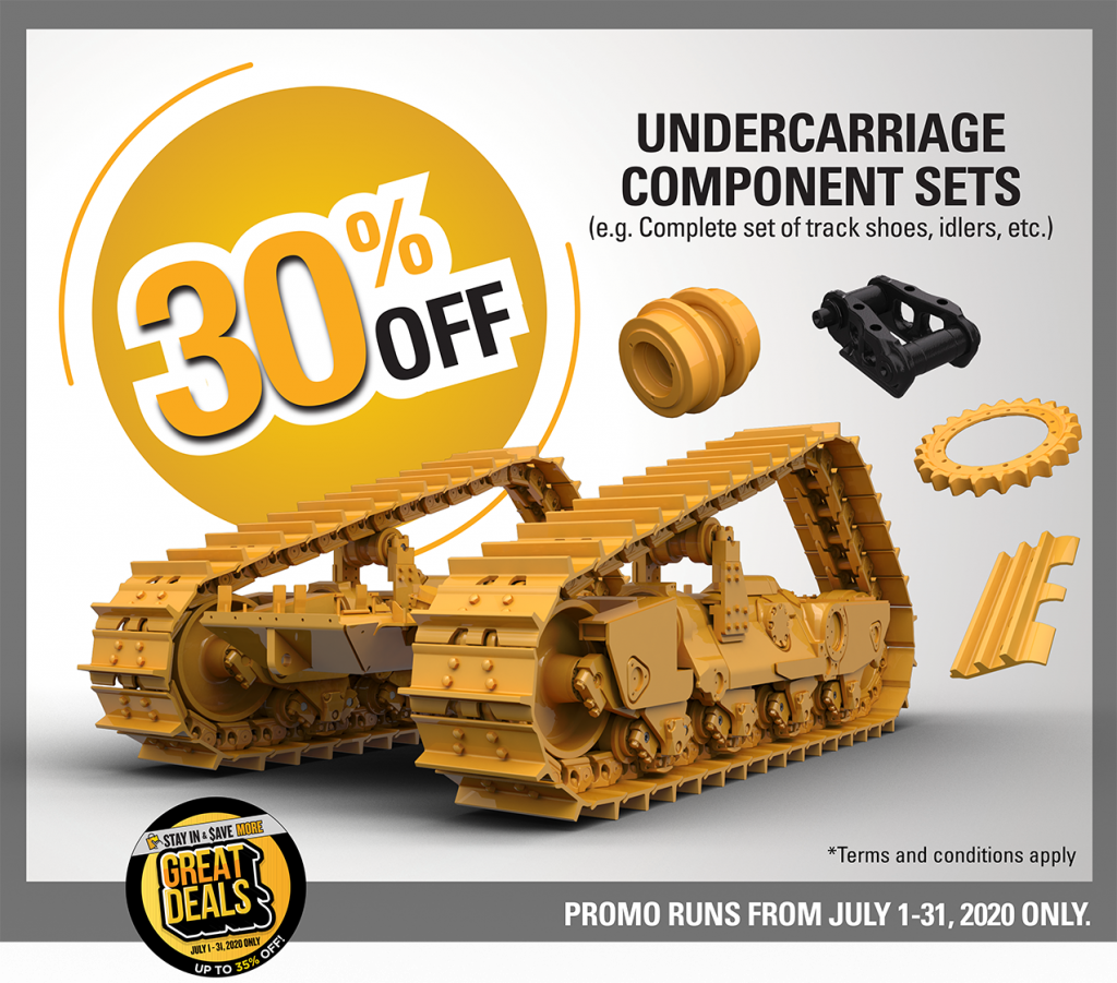 undercarriage component sets